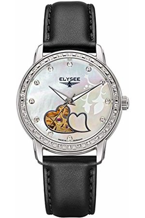 ELYSEE Unisex Adult Analogue Automatic Watch with Leather Strap 11000