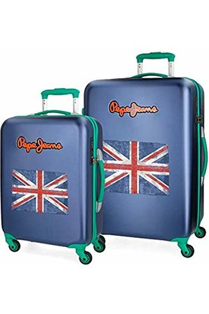 Pepe Jeans Suitcases & Luggage - Bristol Luggage Set 77 Centimeters 136 (Azul)