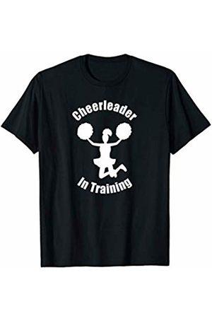 Cheerleading Fun Apparel Cheerleader Gift In Training Learning Pom Poms Sports Base T-Shirt