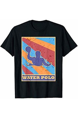Family Men Women Kids Water Polo Team Gifts Idea Water Polo Vintage Retro Colors Aquatic Pool Soccer Player T-Shirt