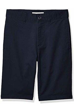 Amazon Essentials Flat Front Uniform Chino Short Navy