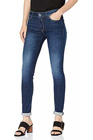 Replay Women's Luz High Waist Skinny Jeans, (Dark 7)