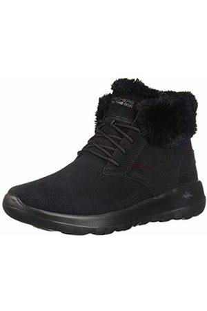 Skechers Women's ON-The-GO Joy Ankle Boots, ( Suede/Trim BBK)