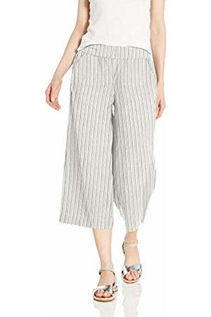 Daily Ritual Linen Wide-Leg Crop Casual Pants