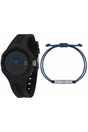 Sector No Limits Mens Analogue Quartz Watch with Silicone Strap R3251514017