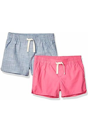 Amazon 2-Pack Pull-On Woven Shorts /Chambray