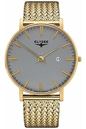 ELYSEE Unisex Adult Analogue Quartz Watch with Stainless Steel Strap 98002M