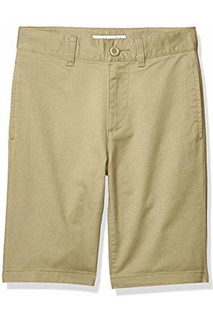 Amazon Flat Front Uniform Chino Short Khaki