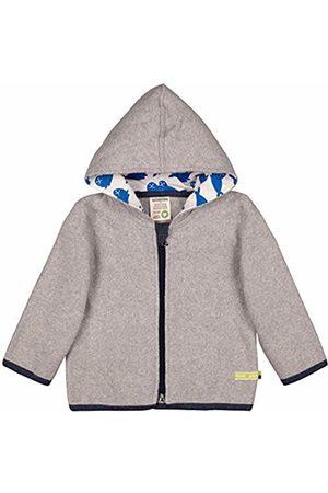 loud + proud Baby Jacke Fleece Aus Bio Baumwolle, GOTS Zertifiziert Sweat Jacket, Gr