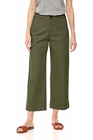Daily Ritual Washed Chino Wide Leg Pant Casual