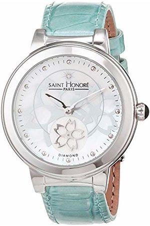 Saint Honore Men's Analogue Quartz Watch with Leather Strap 8860201ARF