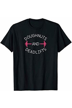Six21 Athletics Doughnuts And Deadlifts Funny Gym T-Shirt