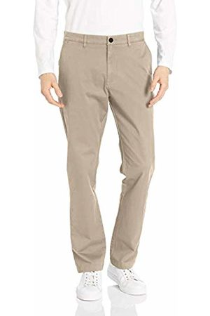 Goodthreads Men's Standard Athletic-Fit Washed Chino, Khaki