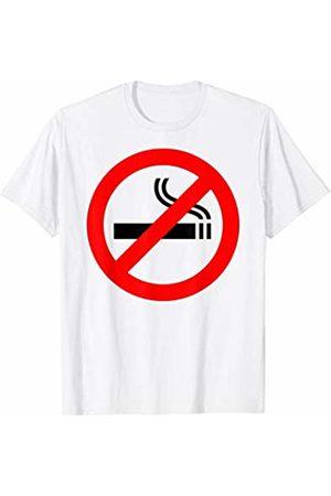 Miftees No Smoking Symbol novelty No Smoking Sign T-Shirt