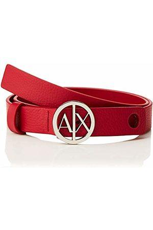 Armani Women Belts - Women's Circle Logo Belt Royal 07375