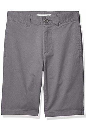 Amazon Flat Front Uniform Chino Short Gray