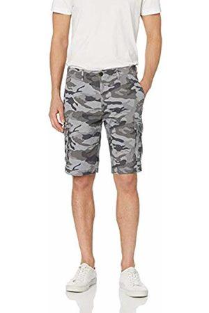 Goodthreads Men's 11 Inch Inseam Cargo Stretch Canvas Short Shorts, ( Camo)