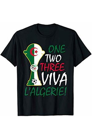 Algeria Soccer Jersey Football Fan Apparel Co Algerian Soccer Jersey Football Team National Flag 2019 Gift T-Shirt