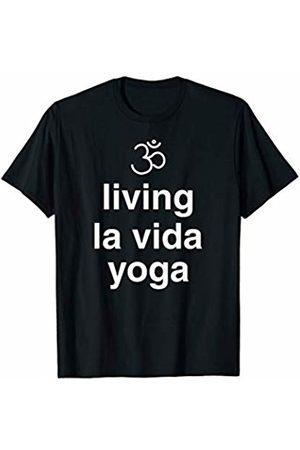 Living La Vida Yoga - Yoga Shirts & More Men T-shirts - Living la vida yoga funny yoga T-Shirt