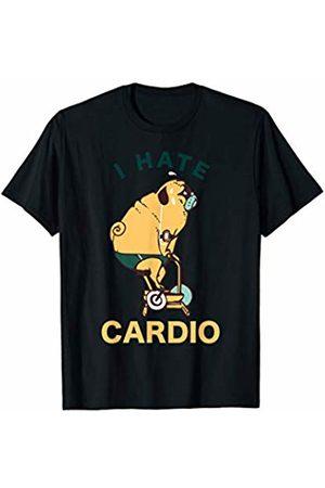 Pugsgym I Hate Cardio Pug Gym T-Shirt