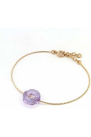 TOUS Bracelet Set Gold-Plated with Crystal - 4202052 VL - 19 cm