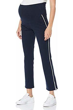 Esprit Women's Pants Sweat OTB Maternity Trousers, (Night 486)