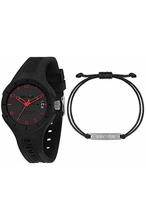 Sector No Limits Mens Analogue Quartz Watch with Silicone Strap R3251514016