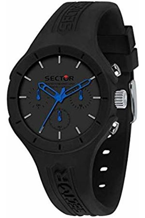 Sector No Limits Mens Analogue Quartz Watch with Silicone Strap R3251514014