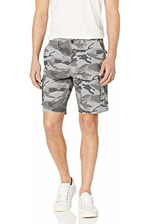 Goodthreads Men's 9 Inch Inseam Cargo Stretch Canvas Short Shorts, ( Camo)