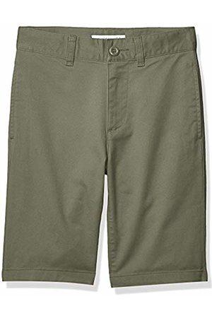 Amazon Flat Front Uniform Chino Short Olive
