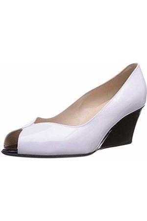 Peter Kaiser Women's ALMA Fashion Sandals Weiß (Weiss VIT Schwarz VIT 784) Size: 7