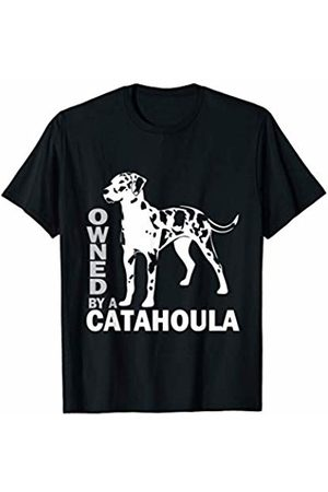 Owned by a Catahoula Leopard Dog | T-Shirt