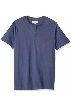 Goodthreads Short-sleeve Sueded Jersey Henley Shirt
