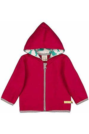 loud + proud Girl's Jacke Fleece Aus Bio Baumwolle, GOTS Zertifiziert Sweat Jacket