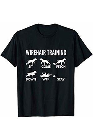 PedigreePrints Wirehair Training - German Wirehaired Pointer Tricks T-Shirt