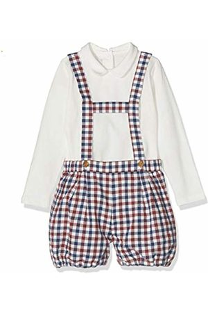 chicco Baby Outfit Sets - Baby Boys' Completo Body Con Salopette Corta Clothing Set