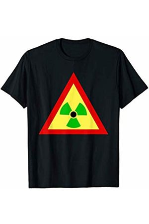Buy Cool Shirts Rasta Radiation Symbol Radioactive T-Shirt