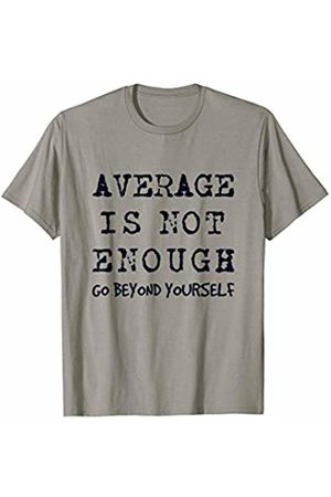 J. Berg Workout Workout Exercise Motivational Clothes Average Is Not Enough T-Shirt