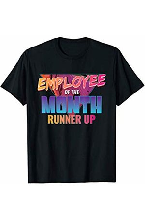 Funny Second Place Office Employee Tees Employee Of The Month Runner Up Gift T-Shirt Best Worker