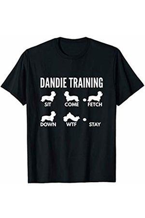 PedigreePrints Dandie Training - Dandie Dinmont Terrier Tricks T-Shirt