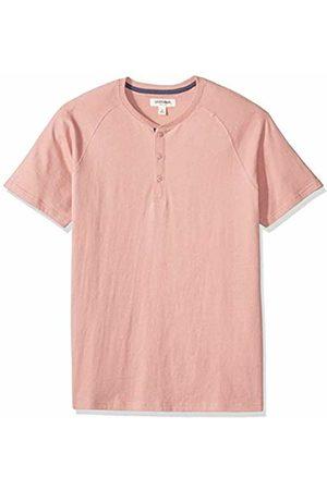 Goodthreads Short-sleeve Sueded Jersey Henley Shirt