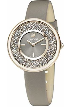 Swarovski Crystalline Pure Watch, Leather strap