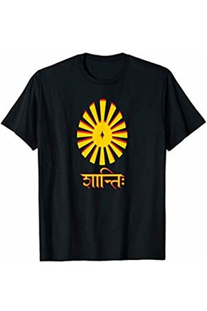 Shanti Shirt Co Shanti Om Peace Yoga T shirt T-Shirt