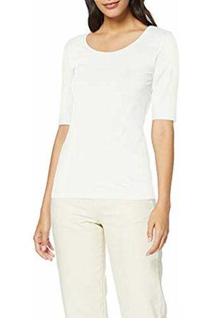 Opus Women's Daily F T-Shirt, Off- Off- (Milk 1004)