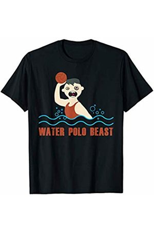 Water Polo Gift Shop Funny Water Polo Player Gift Beast for Goalie Men Boys Coach T-Shirt