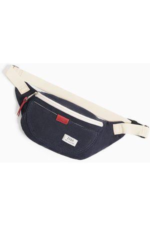 Zara Contrast fabric belt bag