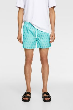 Zara Men Swim Shorts - Ice cream print swimming trunks