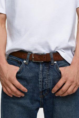 Zara Men Belts - Split suede belt