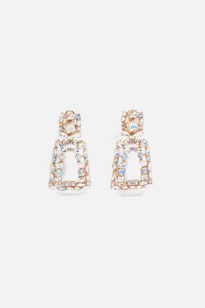 Zara Shiny geometric earrings