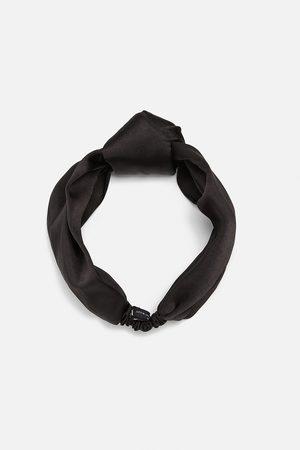 Zara Satin finish headband